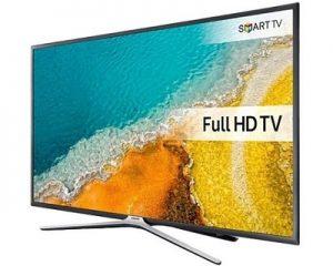 "Samsung 43"" K5500 Flat FHD Smart TV - Black"