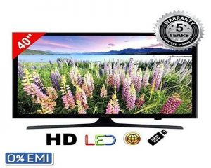 "Samsung 40"" J5200 Full HD LED Internet TV - Black"