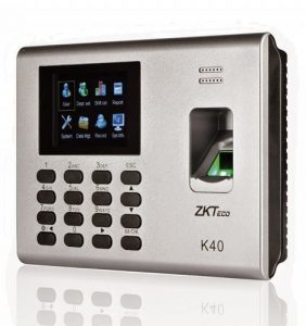 ZKTECO K40 FINGERPRINT AND TIME ATTENDANCE TERMINAL